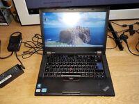 Perfect working order lenovo t420 windows 7 500g hard drive 6g memory processor intel core i5 2.30
