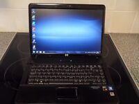 """HP Compaq 6735S 15.4"""" WebCam WiFi Enabled AMD Turion DualCore 2GHz 4GB RAM 250GB HDD DVDRW Windows7"""