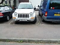 cherokee jeep for sale.Mot fail.Does,nt require much work.Have another vehicle.£675 ono