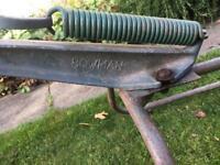 Bowman double clay trap