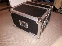 Citronic 6u 19 inch flight case