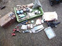 JOB LOT VINTAGE AND NEW TOOLS ETC £15 THE LOT