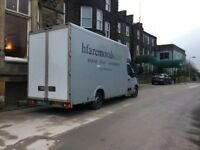 man and van full hire and reward removal insurance all uk and Europe