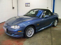 2005 Mazda Mx-5 Euphonic - Artic Edition. 2 Lady owners & very low miles