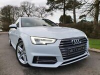 Feb 2017 Audi A4 2.0 TDI S Line 5dr AVANT! ONE OWNER, FULL AUDI S/H, STUNNING CAR, 1 YR WARRANTY