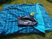 ReadyBed double guest/camping air bed with pump