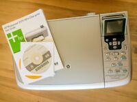 HP Photosmart 2570 inkjet printer + scanner (NO cartridges)