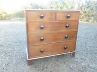 Welsh Oak Chest of Drawers