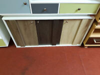 3 door retro cupboard