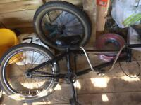 Nearly complete bmx bike