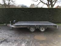 Ifor Williams lm126 3.5 tonne flatbed trailer