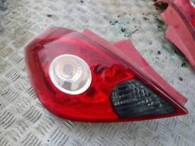 Corsa d rear lights