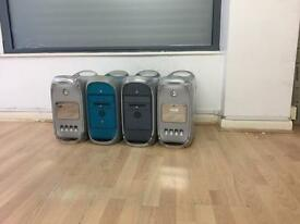 4 x Apple Mac power Mac G4/G3 towers