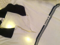 Adidas super oldschool Polo T-shirt size M 10 great price
