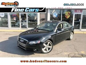 2010 Audi A4 2.0T Premium+LETHER+SUNROOF - CERTIFIED