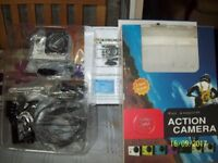 Action camera full hd