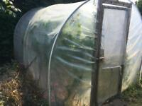 Polytunnel greenhouse 8ft x 10ft OFFERS WELCOME