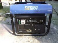 PETROL GENERATER POWER CRAFT 2 HP 900 W 240 V VERY GOOD CONDITION