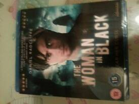 Brand new and sealed woman in black blu ray dvd
