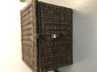 Ikea Gabbig Dark Brown Storage Box