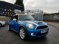 MINI Hatch 1.6 Cooper S 3dr Lady owned FSH Stunnung Colour 2007**TOP SPEC**MATRICULATE CONDITION**