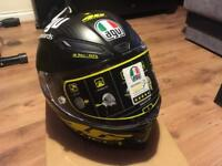 Agv pista gp project rossi helmet matt carbon