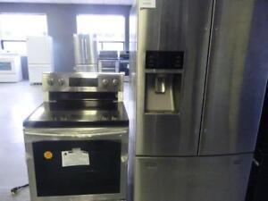 "58-  NEUF - -  Réfrigérateur Frigo  + Cuisinière SAMSUNG  36""  Refrigerator Fridge  + Stove  - NEW"