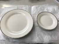 6 dinner plates and 6 side plates - free to anyone who can pick up