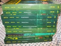ACCA and AAT Accountancy Books by BPP