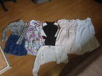 Bundle of clothing Zara next river island