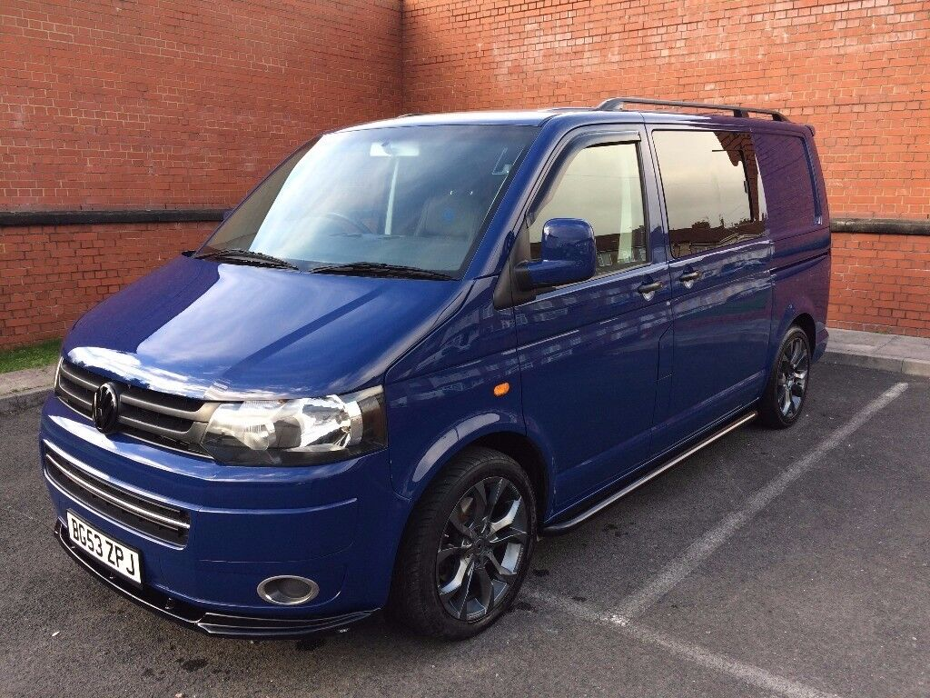 VW T5 CAMPERVAN BRAND NEW CONVERSION FACELIFT FRONT LOVELY LOOKING VAN READY