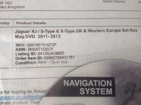 Sat Nav DVDs for jaguar 2011-2012