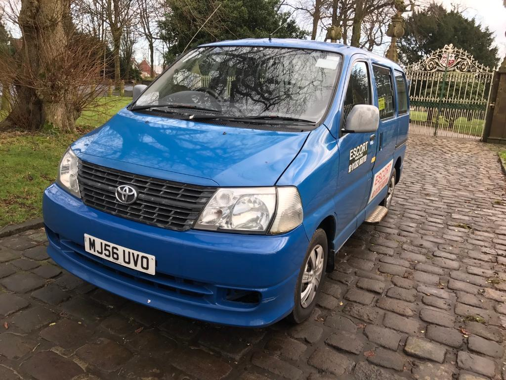 Toyota Hiace 8 Seater 2 5 Diesel In Colne Lancashire Gumtree
