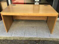 Oak 1500mm office desk