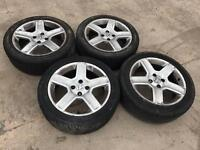 2003 Peugeot 307 HDI Alloys With Tyres 205/50 ZR17