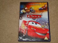 3 DISNEY CARS DVDs - CARS, CARS 2 AND CARS TOON MATER'S TALL TALES