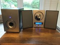 TEAC Micro Hi-Fi system with subwoofer