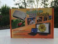 PC VGA to TV Composite Video RGB Converter / TV AV RCA S-Video Adapter Converter Box