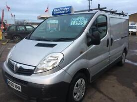 vauxhall vivaro swb 2700 cdti in silver 6 speed gear box only £3995 no vat