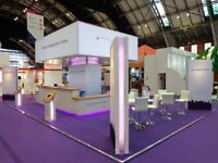 Large, Custom, Modular, Exhibition Stand, Trade Show Stand. Worth £28k