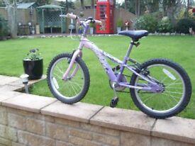 GIRLS MOUNTAIN BIKE BICYCLE