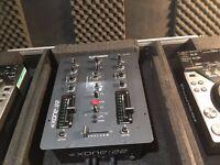 Pioneer CDJ 350, Allen & Heath Mixer and Flight Case