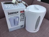 Cordless kettle 1.7 L brand new in box