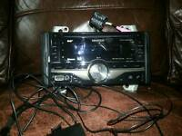 Kenwood 2 din cd receiver with dab tuner and bluetooth