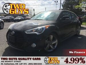 2014 Hyundai Veloster TURBO NAV LEATHER PANOROOF NEW TIRES