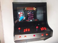 2 PLAYER WALL MOUNTED ARCADE c/w 2000 PLUS GAMES