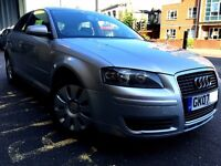2007 AUDI A3 SPECIAL EDITION 1.6 PETROL AUTO,ONLY 68000 MILES, EXCELLENT CONDITION,P/X ELCOME