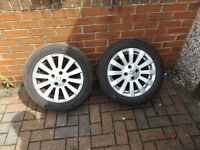 2x 15inch Rims ROVER 25 / 45 / MG ZR / MG ZS ALLOY WHEELS