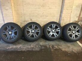 Range Rover sport alloys