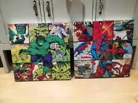 Marvel wooden pictures